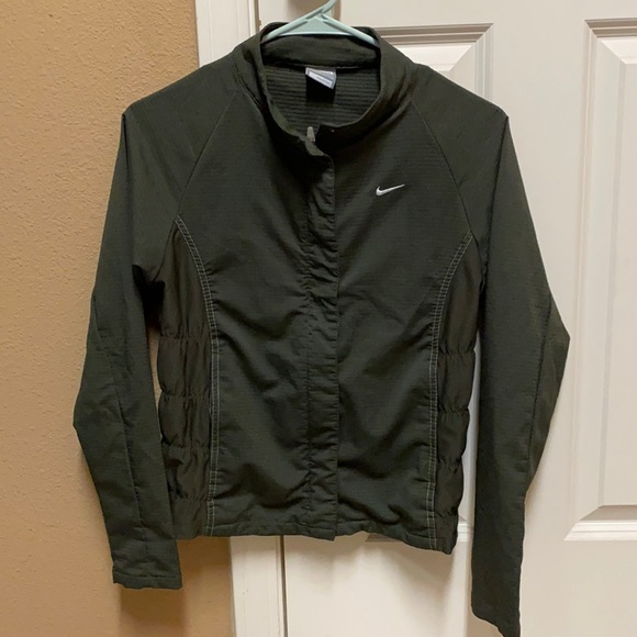 Nike Fit Dry Army Green Jacket